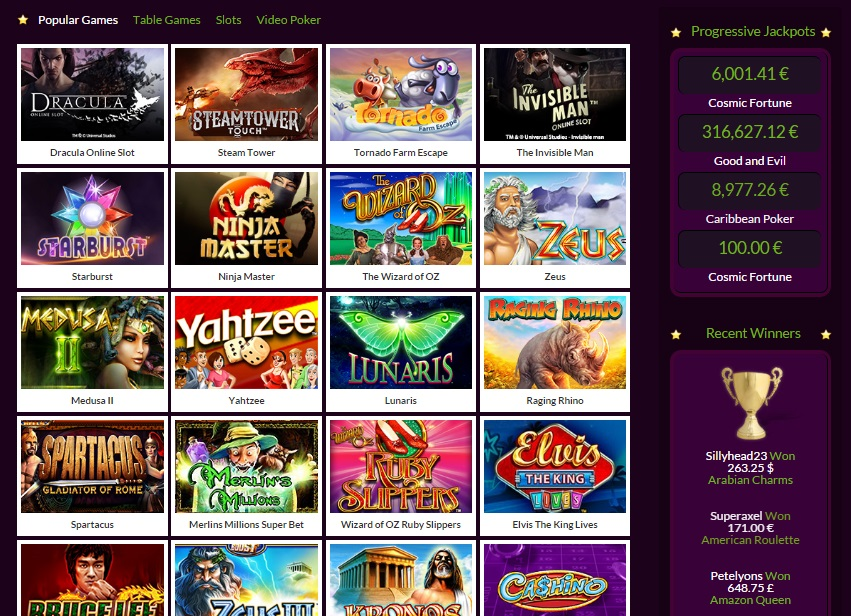 slots magic casino bonus